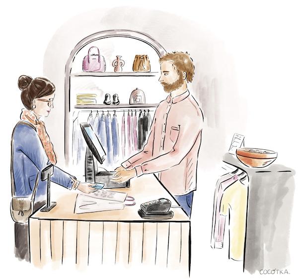 recrutement hotesse de caisse luxe