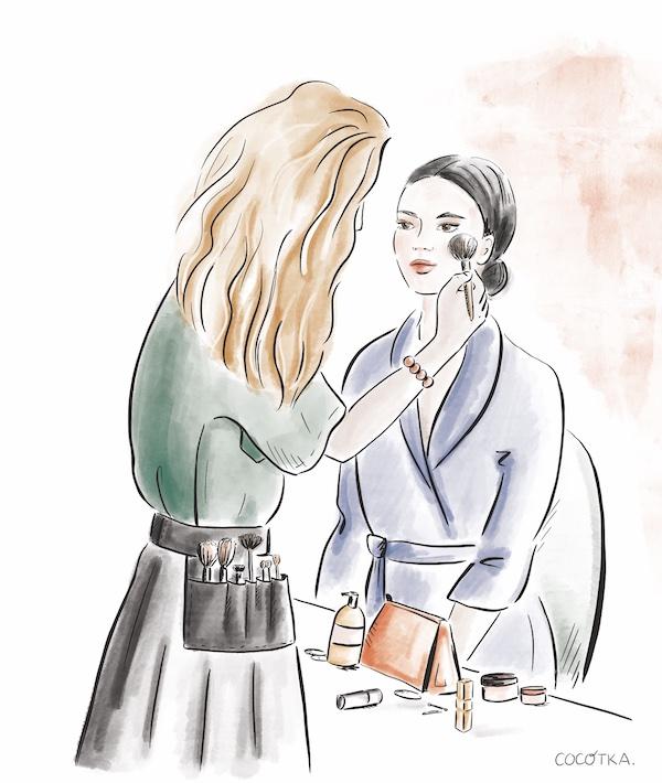 Recrutement make-up-artist